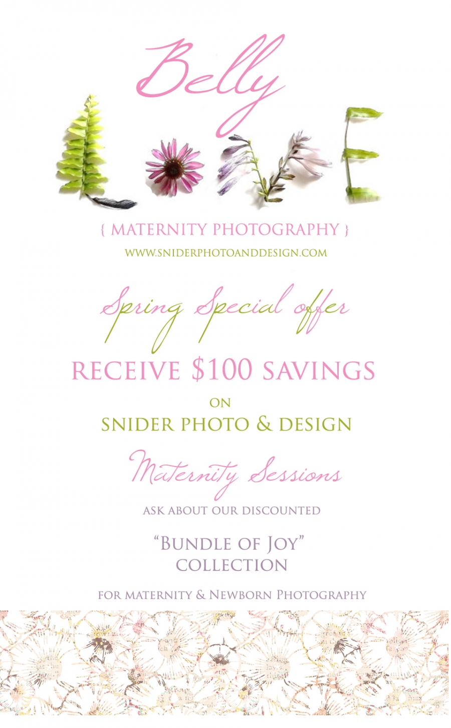 Orange County Maternity Spring Special offer